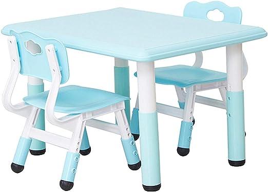 Ffion Mesa Y Silla De Plástico para Educación Temprana para Niños ...