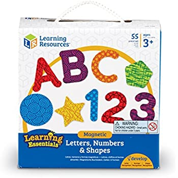 Learning Resources Magnetic Letters, Numbers & Shapes (LER7724)