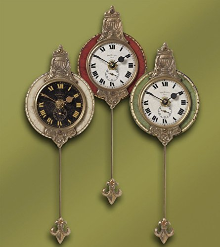 Uttermost monarch clock set of 3