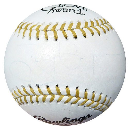 (Tony Gwynn Signed Official Gold Glove Baseball Padres - Certified Genuine Autograph By PSA/DNA - Baseball Collectible)