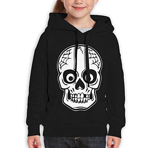 J Cole Halloween Costumes (FDFAF Teenager Youth Halloween Skeleton Mountain Climbing Fashion Hoodie Sweatshirt XL Black)