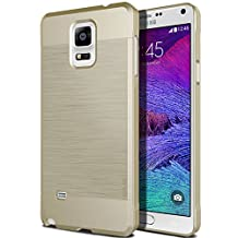 Galaxy Note 4 Case, Obliq [Slim Meta] Ultra Slim Fit [All Around Protection] Samsung Galaxy Note 4 Cases [Champagne Gold] - Premium Dual Coated Polycarbonate Elegant Modern Minimalistic Design - Best Samsung Galaxy Note IV SM-N910S Late 2014 Model