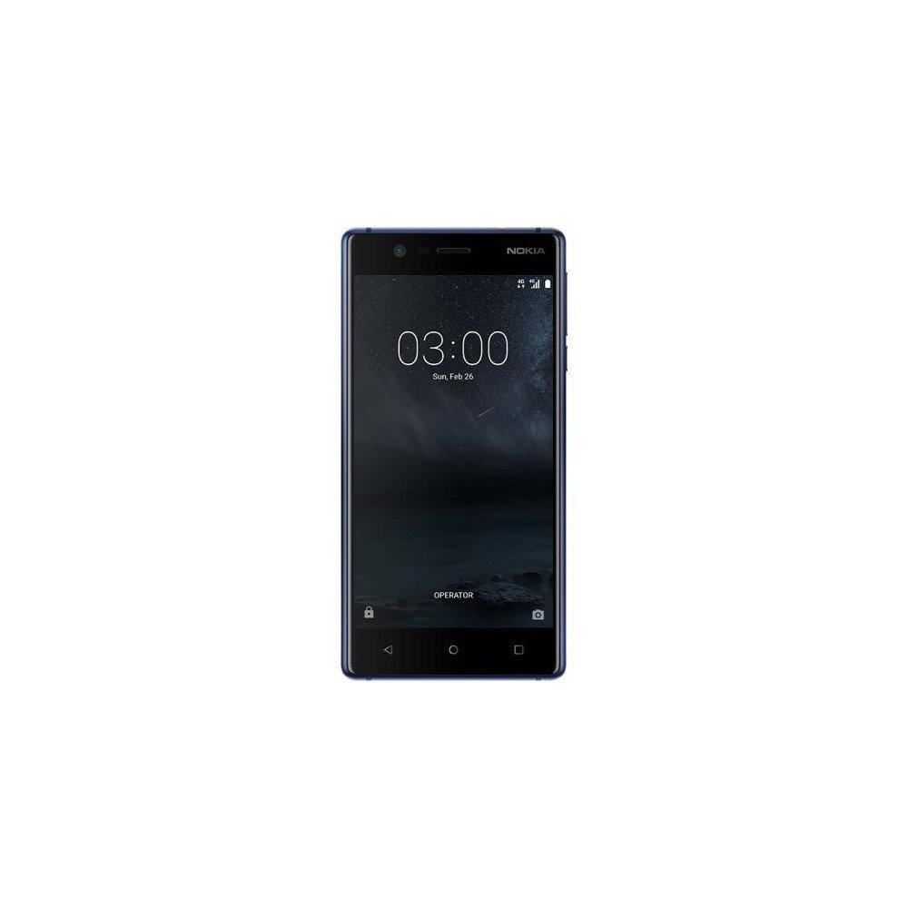 Nokia 3 SIM Doble 4G 16GB Negro, Azul - Smartphone (12,7 cm (5