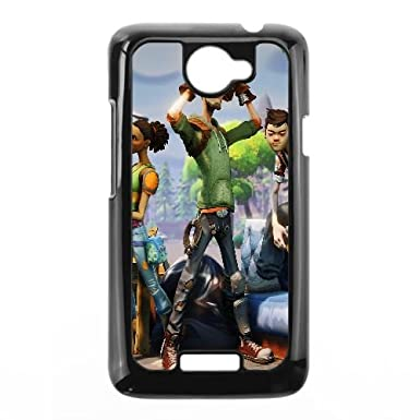 Fortnite de HTC One X carcasa para teléfonos móviles negro ...