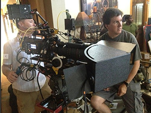 EyeDirect Mark II Focusing Device, teleprompter / autocue with foam fitted rolling case