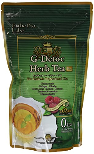 ESTHE PRO G-Detoc Herb Tea | 62 kinds of Herbs and Spices good for Detoxification | Professional Use | 30 Tea Bags (Japan Import) by ESTHE PRO