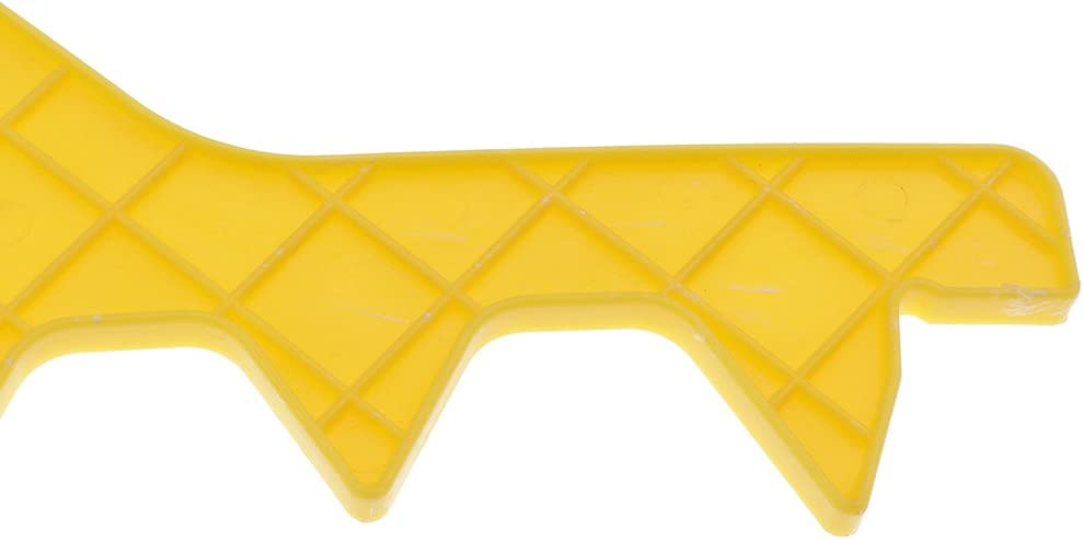 10 Frames BEE Frame Spacer Bee Hive Frame Spacing Tool Yellow