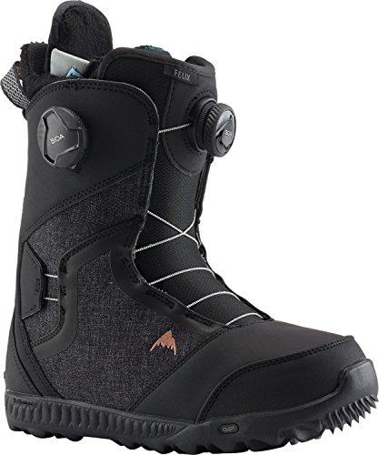Burton Felix BOA Snowboard Boots Black Womens Sz 7