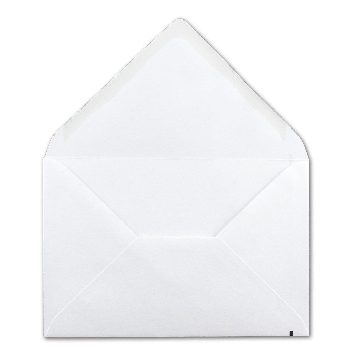 Weiße Weiße Weiße Trauerumschläge mit schwarzem Trauerstrich 700 Stück KuGrüns DIN B6 120x175 mm Nassklebung Umschläge für Beerdigungen, Traueranzeigen. B07D5CYKNW | Stabile Qualität  cc2373