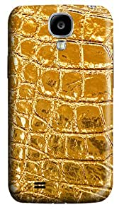 Yellow Texture Polycarbonate Hard Back Case Cover for Samsung Galaxy S4 SIV I9500