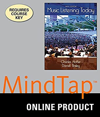 MindTap Music for Hoffer/Bailey's Music Listening Today, 6th Edition
