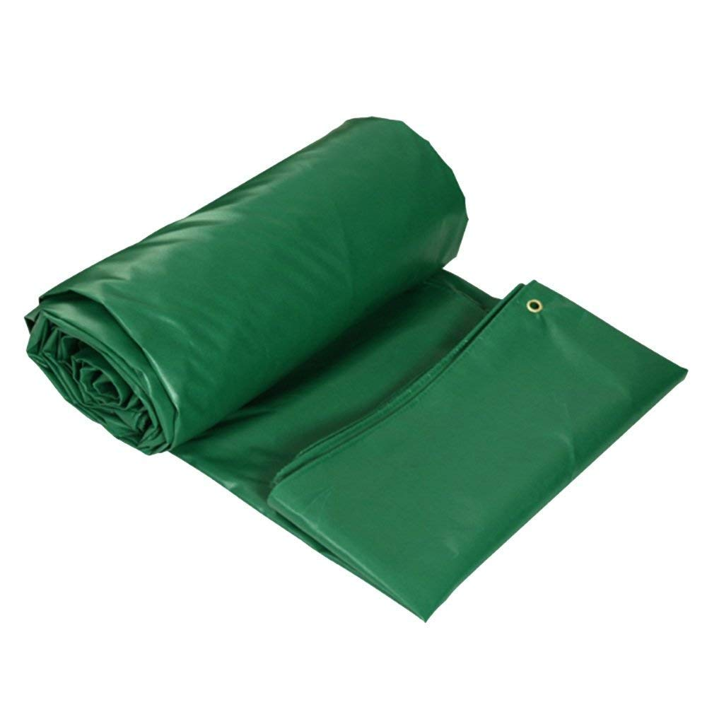 SJMYBB Plane Grüne Zeltplanen Schwerlastplane Geeignet für Outdoor-Reisen Camping Schwimmbad Set Picknick Auto Camping Wandern fischen pet Cargo Set (größe   4  4m)