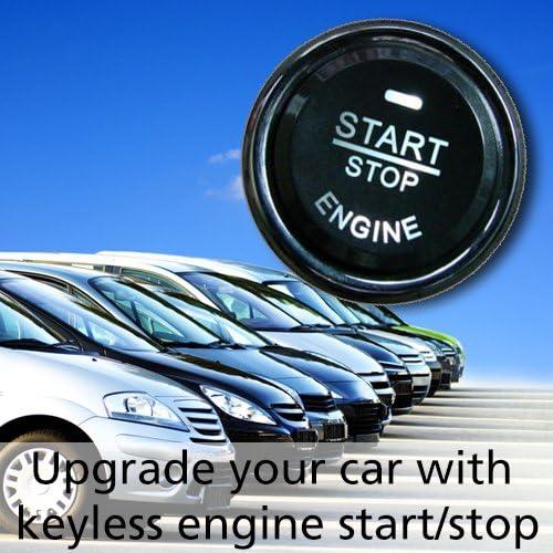 Ocs Tec Kfz Startknopf Motorstart Keyless Start Stop Motorknopf Auto Al7 Auto