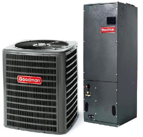 4 Ton Goodman 16 SEER R-410A Air Conditioner Split System