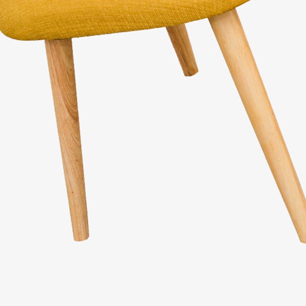 ZEMIN ダイニングチェア椅子の木の木製折り畳み 椅子ソファーシートスツールテーブル背もたれソフトパッディングソリッドウッド脚リビングルーム、4色展開、50x60x80CM ( 色 : 青 ) B0797KBHM3 青 青