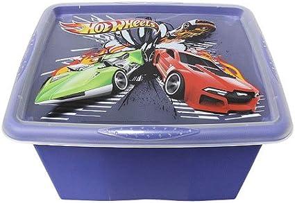 Junior Joy Hot Wheels Stack and Go - Caja de almacenamiento: Amazon.es: Bebé