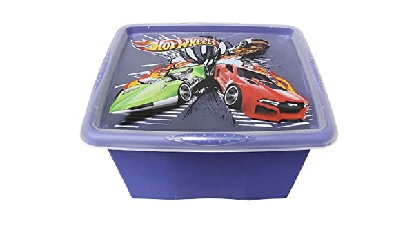 Junior Joy Hot Wheels Stack and Go - Caja de almacenamiento ...