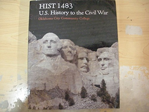 Hist 1483 U.S. History To The Civil War