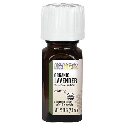 Aura Cacia Pure Organic Lavender Essential Oil