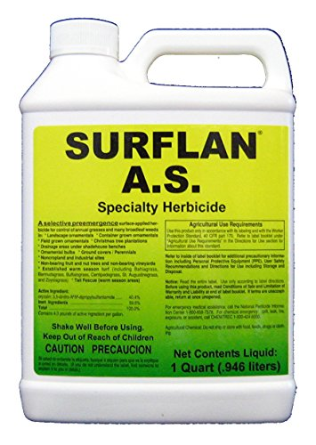 A.S. Specialty Herbicide Pre-Emergent Herbicide with Oryzalin, 32oz – 1 Quart (Herbicide Weed)