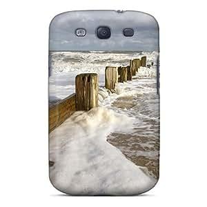 Awesome Dark Ocean Beach Flip Case With Fashion Design For Galaxy S3