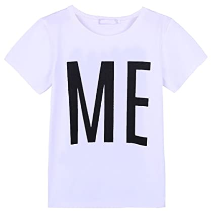 59b1a5f20e4c Men Dad Son T-Shirt Cotton Casual Letter Print Soft Top Short Sleeve Round  Neck