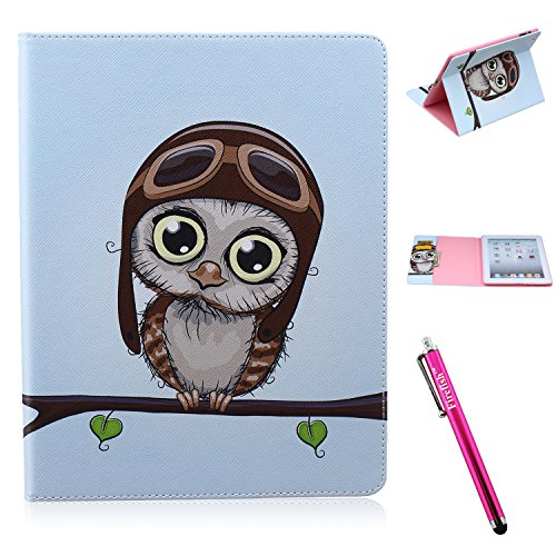 iPad Case, iPad 2/3/4 Case Firefish [Kickstand] [Card - Ipad Mini Retina Refurbished 32gb