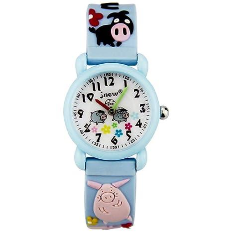 E-Rrill Inteligente Reloj Deportivo Digital Reloj para Niños Reloj Estudiantil Reloj De Cuarzo De