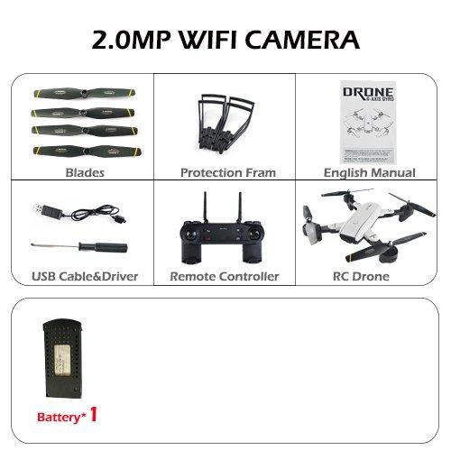 promociones emocionantes 200w Fotocamera Zantec sg700 2 MP RC Drone y Control Control Control con Cámara WiFi FPV Plegable sin Cabeza vs E58  muchas sorpresas