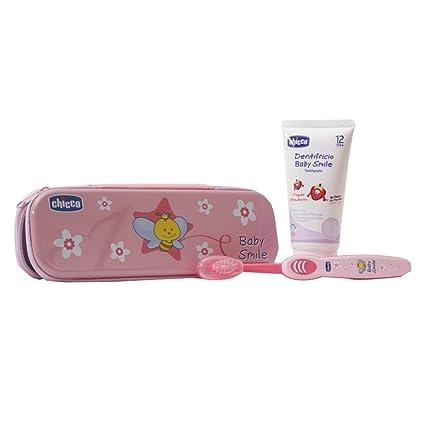 Chicco 023180 - Set de cepillo y pasta de dientes (a partir de 12 meses