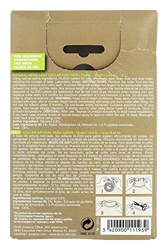 Amazon.com : ALZOO Natural Repellent Flea & Tick Collar for Cats 1-oz box 1-count : Pet Care Products : Pet Supplies