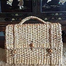 70451ec6d9 Amazon.com  M Straw Bag