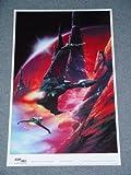 "Star Trek TNG Klingon Birds of Prey ""On Patrol"" Rare Giant Poster 24 x 38 inches"