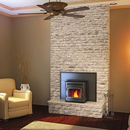 Pellet Stove Inserts Fireplace - Timberwolf Economizer Pellet Insert