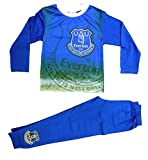 Everton FC Boys Girls Kids Pyjamas PJs Ages 4 to 12 Years Old (5-6 Years, Blue Home Colours)