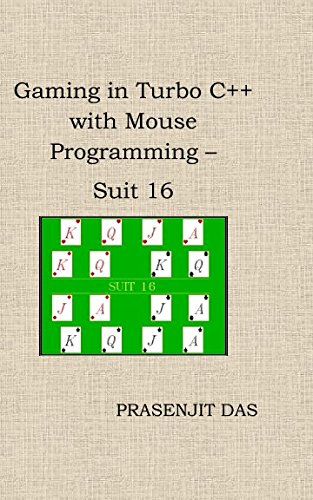 Gaming in Turbo C++ with Mouse Programming - Suit 16