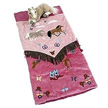 Carstens Home Girls' Cowgirl Sleeping Bag - Hsb-907