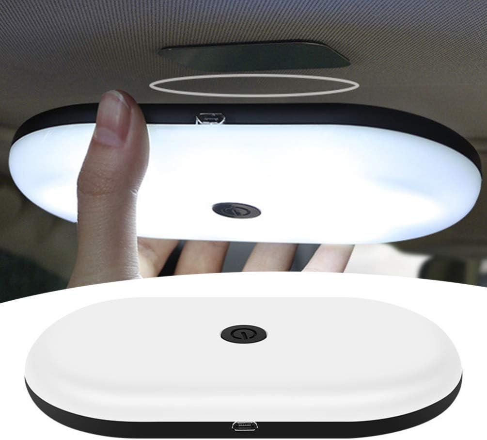 Garneck Cupola Interna per Auto Luce Led Carica Usb Lampada da Lettura Portatile Lampada da Notte Lampada Montata su Veicolo per Auto Suv