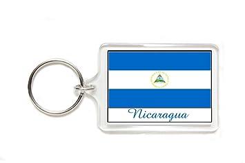 Amazon.com: Souvenir Nicaragua bandera nicaragüense acrílico ...