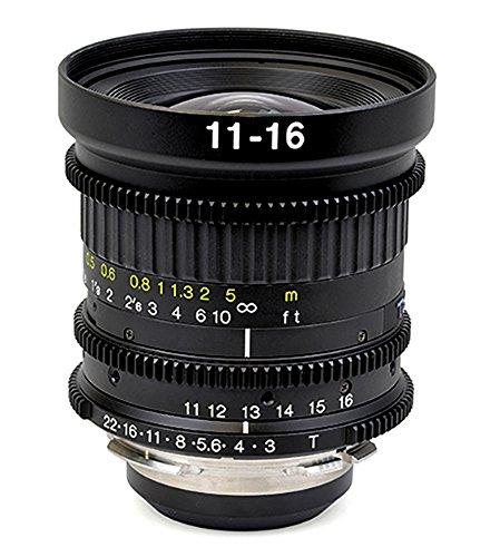 Tokinaシネマ11 – 16 mm AT - X t3.0 – 22固定のPLマウントズームカメラ、ブラック(tc-116p)   B01LYHUKB7