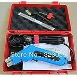 Eléctrico caliente cuchillo cortador de espuma calor alambre acanalar herramientas de corte