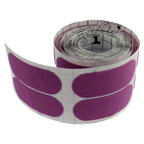 100-Piece Purple PS-F12550 Turbo Grips Semi-Smooth Fitting Tape Roll