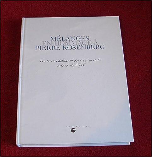 Livre Melanges en Hommage P Rosenber pdf, epub ebook