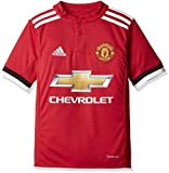 Adidas Boys Manchester United Home Jersey - Real Red/White/Black, 152