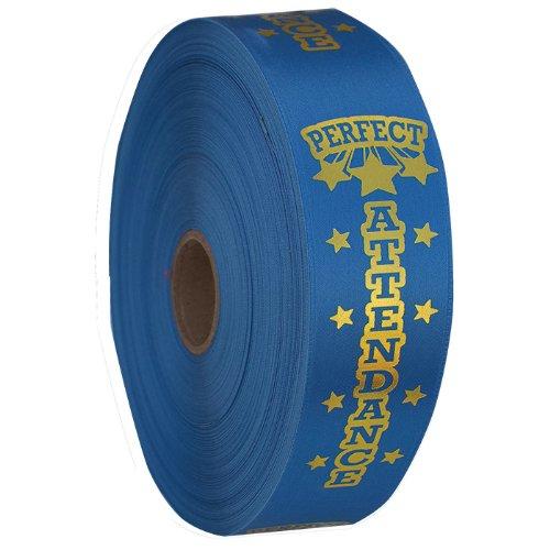 Premium Ribbon Rolls - Perfect Attendance
