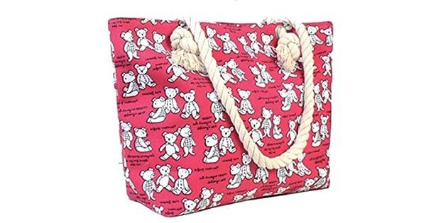 Amazon.com: Bolsa de lona para mujer, bolsa de lona con ...