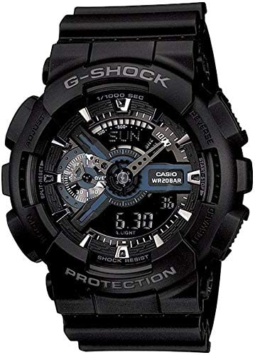 Buy Casio G-Shock Analog-Digital Black Dial Men s Watch - GA-110-1BDR  (G317) Online at Low Prices in India - Amazon.in 242a6bd95