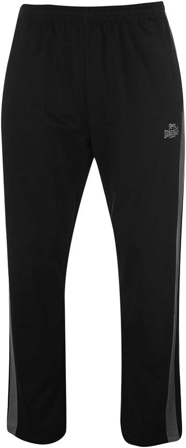 Lonsdale - Pantalones de chándal para Hombre (algodón) Negro ...