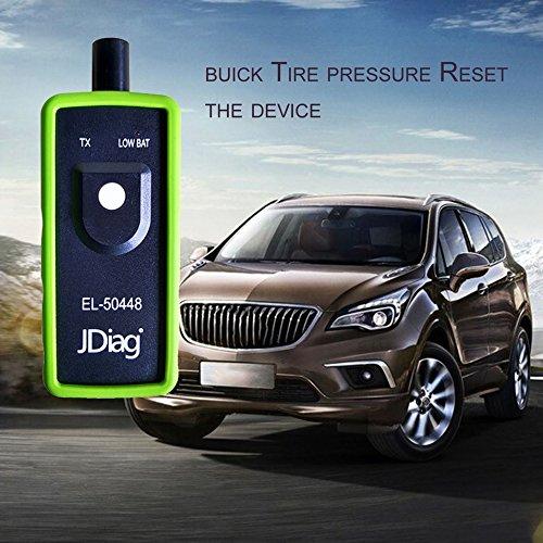 VXDAS EL-50448 RDKS lelensysteem bandenventiel-activator TPMS bandenspanningssensor weer gereedschap Auto banden druk Monitor sensoren voor GM-serievoertuigen