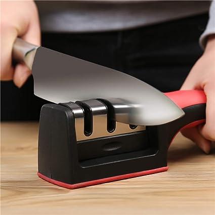 Amazon.com: Profesional de 3 etapas cuchillo afilado ...